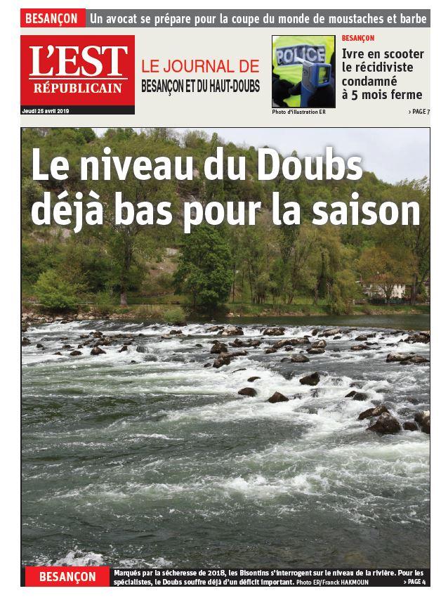 Niveau du Doubs