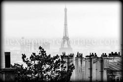 Tour Eiffel et Toits de Paris