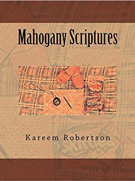 Mahogany Scriptures (Book)