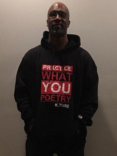 Practice What You Poetry Hoodie (Black)