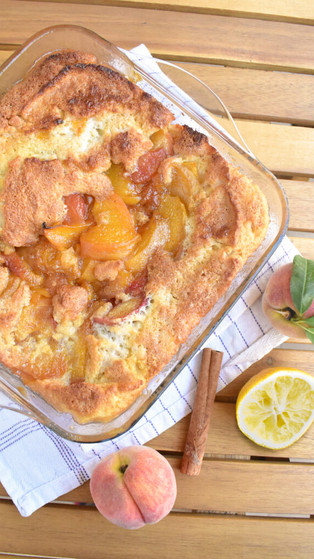 Classic Southern Peach Cobbler Just in Time for Summer