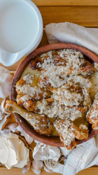 Shkmeruli Recipe – Georgian Chicken in Garlic Sauce (შქმერული)