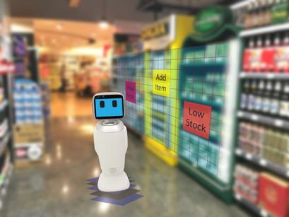 AIロボで小売店舗の在庫棚卸/欠品管理を自動化するBossa Nova Robotics