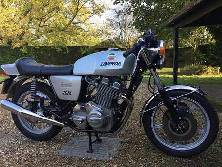 Laverda Jota 1977. The real deal, stunning and here soon.
