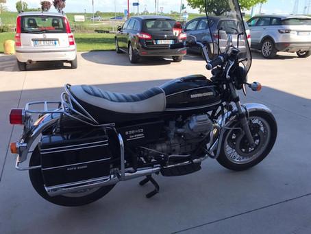 Moto Guzzi 850 T3 California.