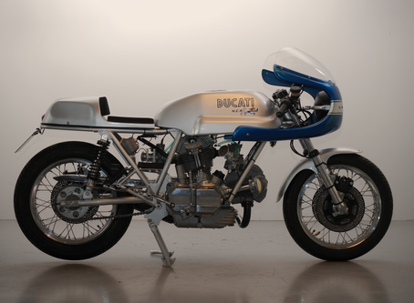 Ducati 900SS Special, ground up new build by us.