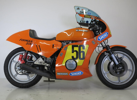 Laverda Formula 500 TT Bike.