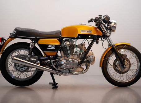 Ducati 750GT 1975 Fully restored by us.