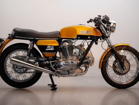 Ducati 750GT 1975 Fully restored by us. Price just reduced!