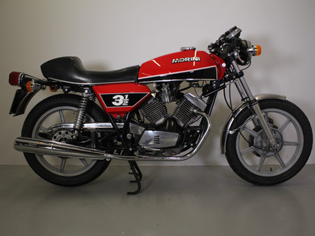 Moto Morini 350 Sport 1978.
