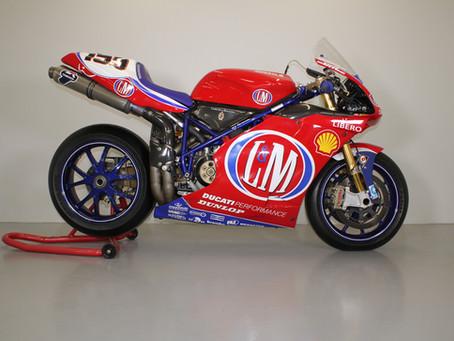 Ducati 998 WSB F02 ex Ben Bostrom