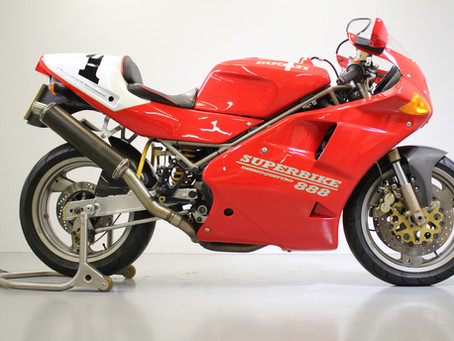 Ducati 888 SP5 Stunning low mileage UK bike.