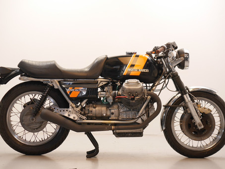 Moto Guzzi Le Mans engined  Café racer 1976