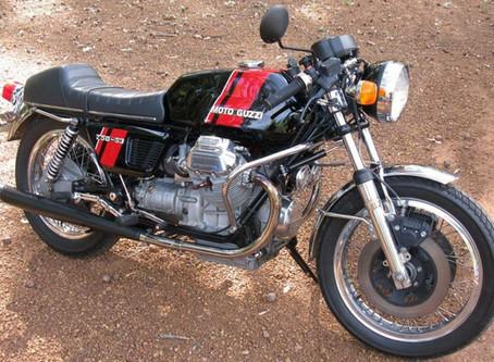 Tim Cox Moto Guzzi S3