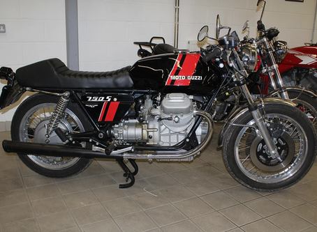 Moto Guzzi 750S Fully restored by TLM.