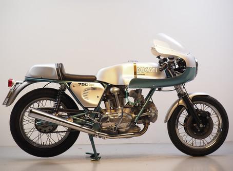 Ducati 750SS Replica just finished.