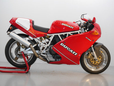 Ducati 900 Superlight Mk1.