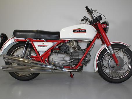 Moto Guzzi NF500 Electric start.
