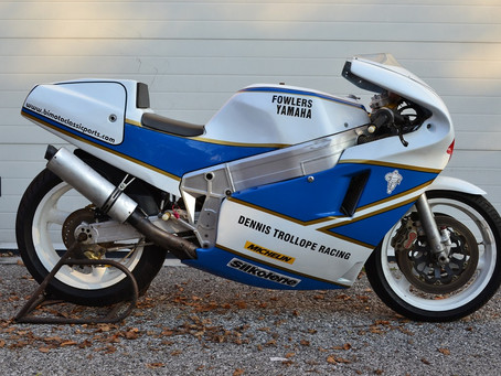 Bimota YB4 1988 Ex Steve Williams