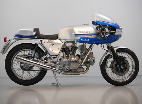 Ducati 900SS 1976 Fully restored by us.