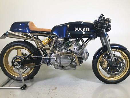 Ducati 900 Egli inspired special.