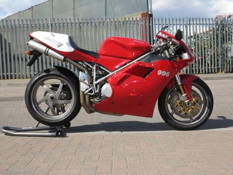 Ducati 996S 2001: Sold.