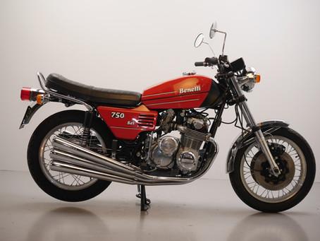 Benelli 750 SEI restored 1978.