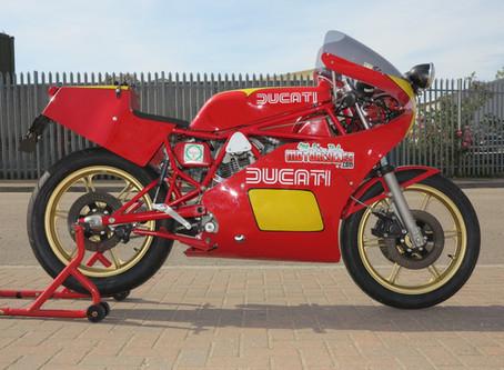 Ducati TT2 Road conversion.