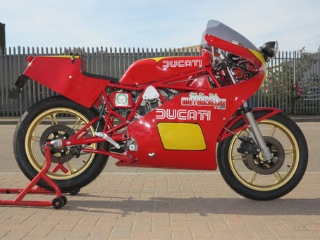 Ducati TT2 Road conversion.