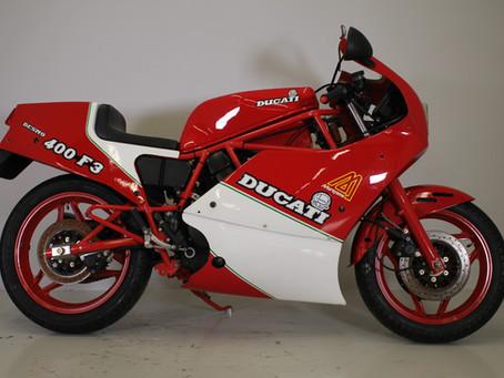 Ducati 400 F3 Frame No1!!