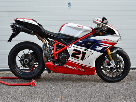 Ducati 1098R Bayliss : Sold.