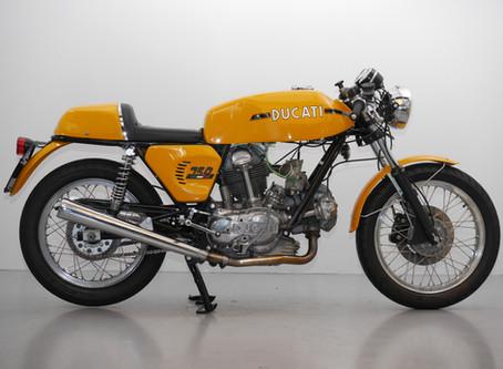 Ducati 750 GT Sport.