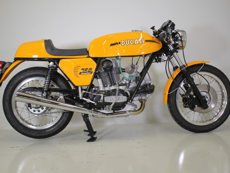 Ducati 750 sport 1973 Fully restored by us.