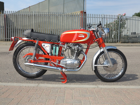 Ducati 250 Mach 1: Sold.