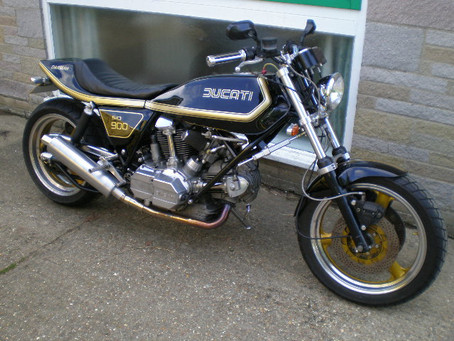 Colin Darlows superb selection of Ducs,