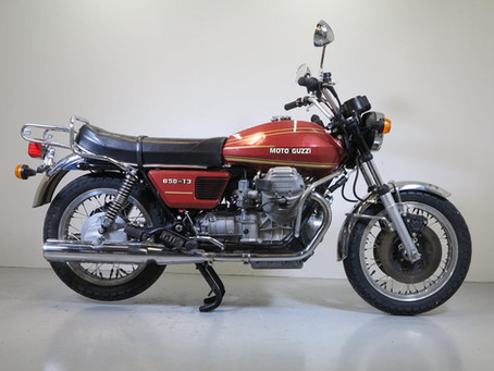 Moto Guzzi 850T3 One owner machine! 1977.