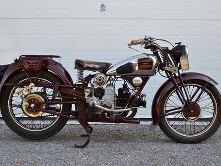 Moto Guzzi 500GTS 1936.