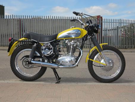 Ducati 450 SCR 1972: Sold.