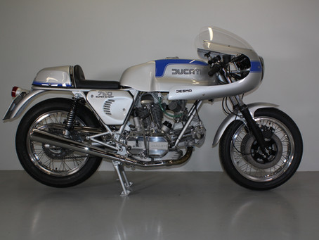 Ducati 750SS 1975 Restoration.