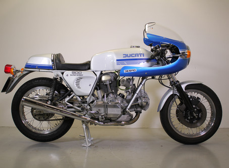 Ducati 900SS 1977 Fully restored by us a few years back.
