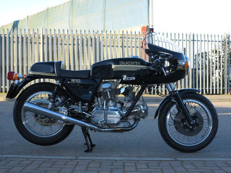 Ducati 900SS Black and Gold 1979.