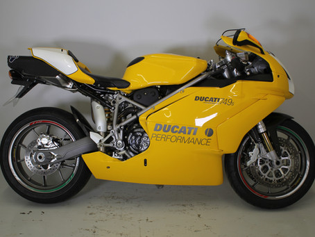 Ducati 749S 2003 Frame Number 1!!