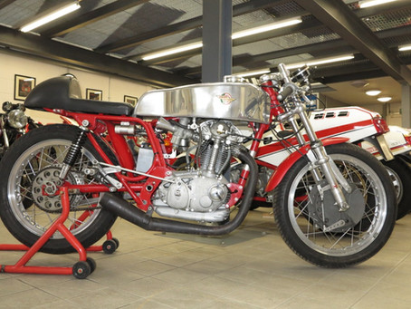 Ducati 350 Desmo racer: Sold