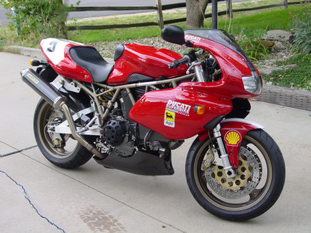 Visitors bikes: Lovely modified 900SS from King Browne in Colorado