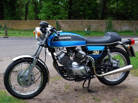 Mark  Bailey 1975 Morini 3½ Strada