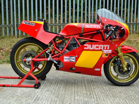 Ducati TT2: Sold.