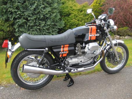 Moto Guzzi 1000S Restored.