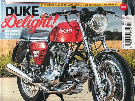 Classic motorcycle mechanics road test.