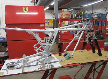 Ducati 900SS 1976 restoration.