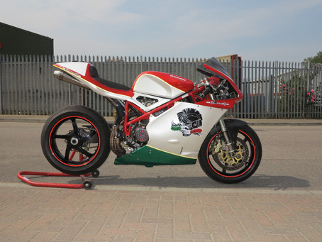 Ducati supertwins race bike: Sold